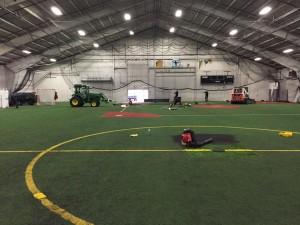 indoor turf maintenance