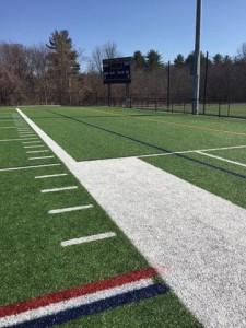 line paining on football field