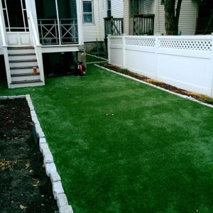 residential turf, turf prep, artificial grass, synthetic turf