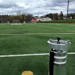 gmax testing on athletic field