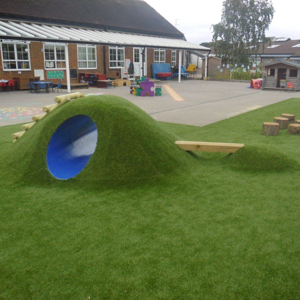 Install Play Mounds At Your Playground This Summer Turf Prep