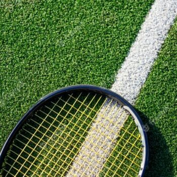 artificial turf for sports tennis court